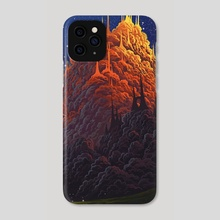Kingdom of the clouds - Phone Case by Roberto Nieto