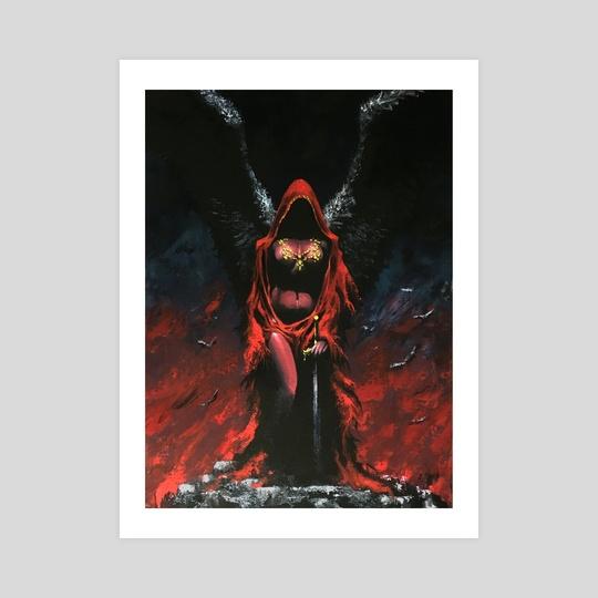 The Red Angel by John Dotegowski