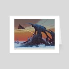 Shell City - Art Card by Paul Rivoche