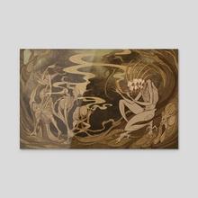 Screamsong - Acrylic by Morgan Shay