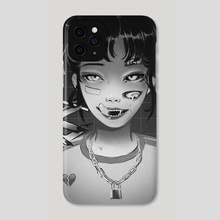 CUTEST GIRL - Phone Case by Jyokai_