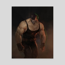 Bane - Canvas by Marcus Augusto Reyno