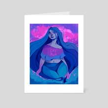 Girl Power - Art Card by Angelica Fatourou
