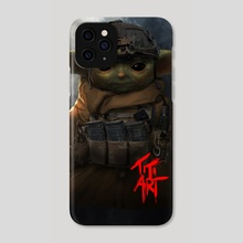 TACTICAL_YODA - Phone Case by titiartist