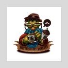 Hipsterstein's Monster - Art Print by Danilo Fiocco