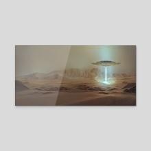 Arrival on Earth - Acrylic by Nele Diel