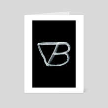 Alchemical Symbols - Vapour Bath Inverted - Art Card by Wetdryvac WDV