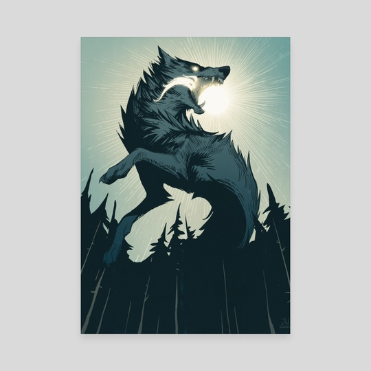 The Wolf that Swallowed the Sun by Jonathan Wesslund