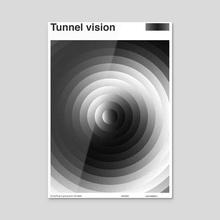 Tunnel Vision - Acrylic by Carlos del Pino