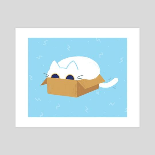 Box Cat by Bree Lundberg