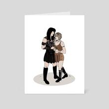 Xena & Gabrielle (Color) - Art Card by Soren Gray Studios