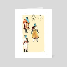 Outfits - Art Card by Em Niwa