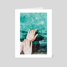 Holy Water - Art Card by 83 Oranges
