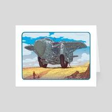 Ghost Glider - Art Card by Paul Rivoche
