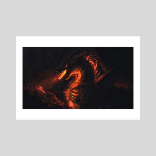 Forgemaw dragon by Timi Honkanen