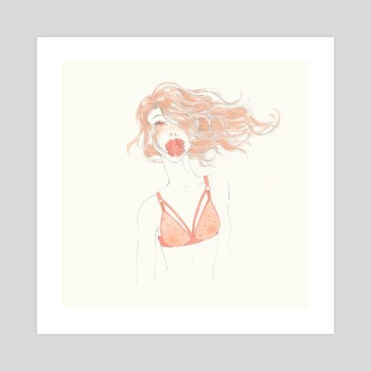 Sping girl 3 by Ira Weber