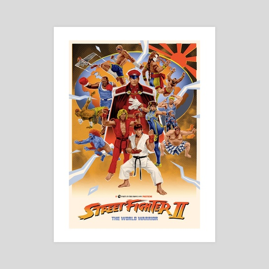 Street Fighter II - The World Warrior by Party in the Front