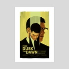 From Dusk Till Dawn - Art Print by Carina Tous