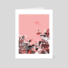 Foragers - Art Card by Jeannie Phan