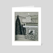 Weary Traveler - Art Card by Shelby Baca