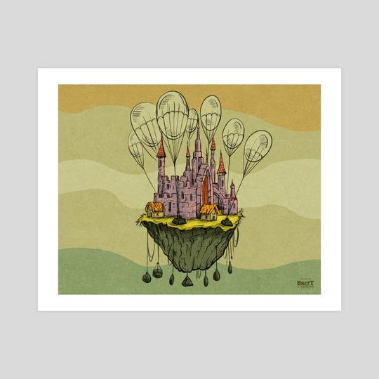 Floating Castle by Brett Stebbins