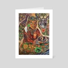 Vigilant Reception - Art Card by Ally Markotich