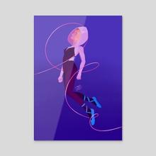 Leap of Faith - Acrylic by Julienne 💕