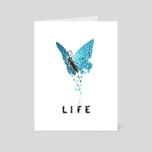 Life - Art Card by Indré Bankauskaité