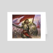 Andor the valiant - Art Card by Olivier Bernard