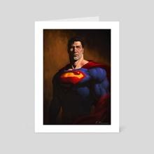 Clark - Art Card by Enzo Fernandez