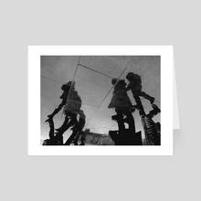 Reflection. VII. - Art Card by minkunoe