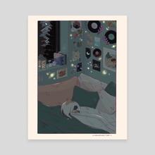 Night - Canvas by GabzSketch