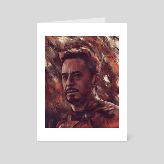 Iron Man by Anna Perks