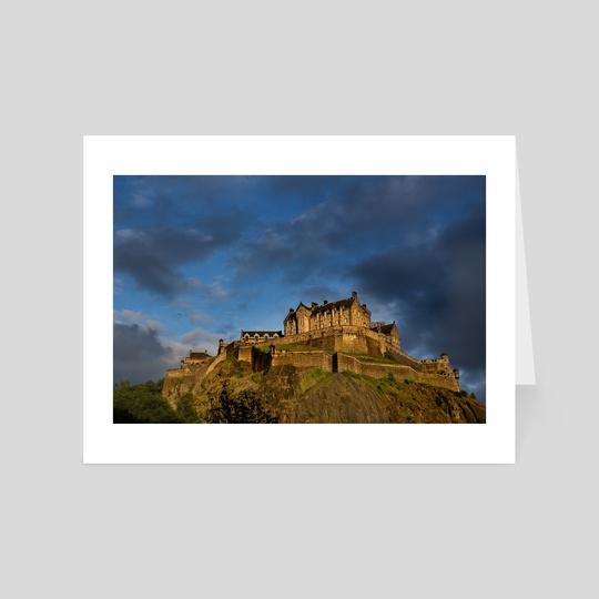 Edinburgh Castle by Brian Fisher