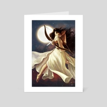 Goddess of the Moon - Art Card by Christy Tortland