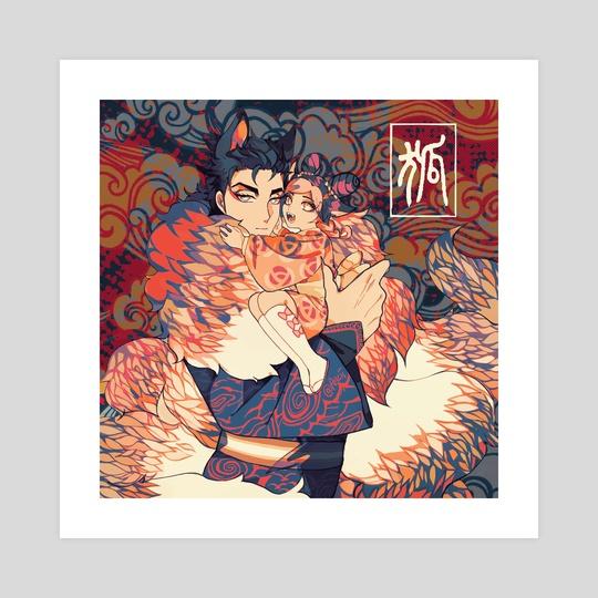 Kitsune Ora by Arcii