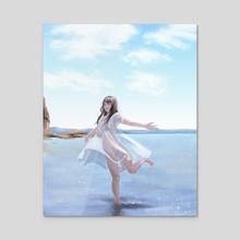 Summer - Acrylic by Joy Cardaño