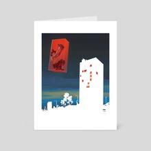 Outside my room - Art Card by Pablo Hurtado de Mendoza