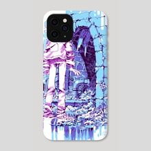 This Tunnel Sure Looks Cool But Also Maybe A Bit Intimidating - Phone Case by josiah files