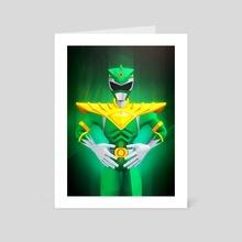 Green Ranger - Art Card by Jonathan Lam