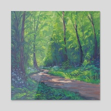 Dappled Forest - Acrylic by Maddy