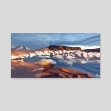 Landscape #1 - Acrylic by Alessia Colognesi