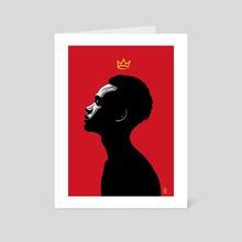 FUTURE KING - Art Card by Tyrone Schuyler