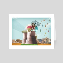 Don't worry - Art Card by Nazario Graziano