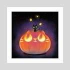 My pumpkin - Art Print by Oil Little