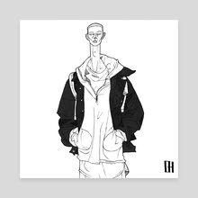 DUSK - Canvas by Ben Harrison