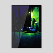 Shadows - Acrylic by Michał Sawtyruk