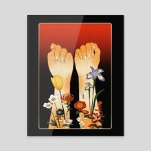 regrowth - Acrylic by Hayley Hanyuda Wong