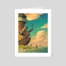 Lake of Stars - Art Card by Matt Rockefeller