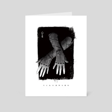Scavenger Gear - Shadowtouch Gloves - Art Card by Shardstone